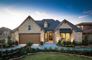 Homes In The Woodlands Canopy Green Creekside Park By Shea