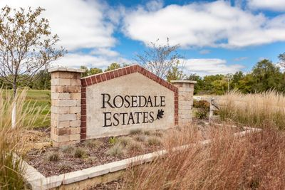 Rosedale  Estates