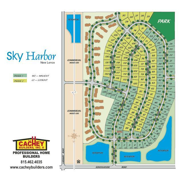 TJ Cachey Builders Manhattan IL Communities Homes For Sale