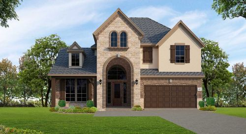 The Woodlands At Creekside 55 By Trendmaker Homes In Houston Texas