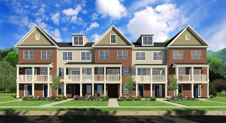 Penn square in lansdale pa new homes floor plans by wb homes penn square by wb homesnew construction townhomes in montgomery county fandeluxe Image collections