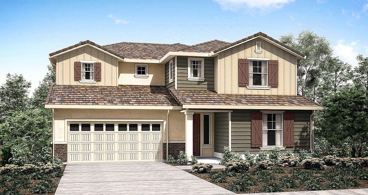 Woodside Homes Floor Plans Granite Trails At Parkshore In Folsom Ca New Homes & Floor Plans