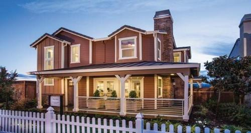 Heritage At Mountain House By Woodside Homes In Stockton Lodi California