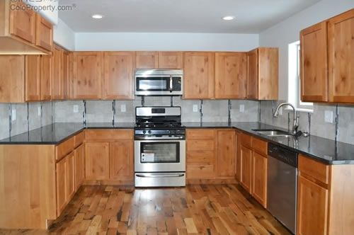 Kitchen featured in The Platt By 2 Valley Builders in Greeley, CO