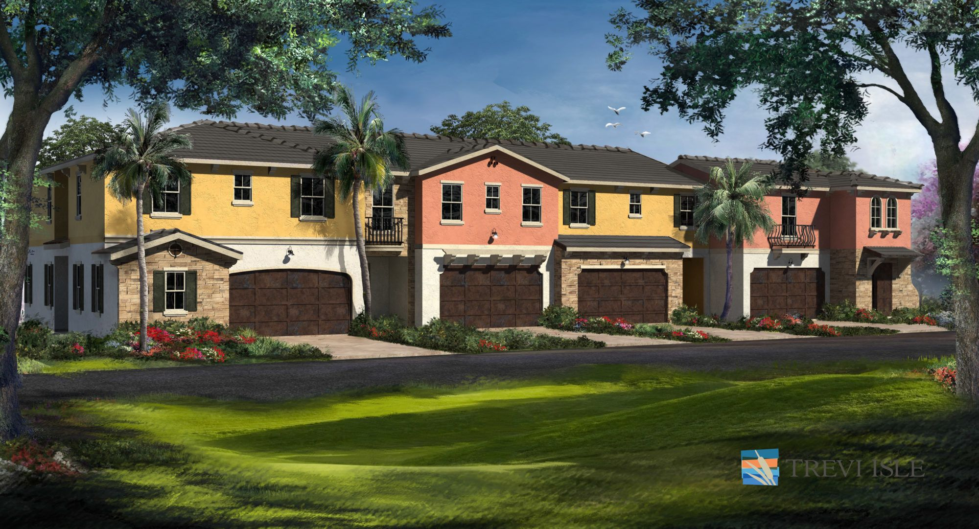 Exterior featured in the Kaylynda By 5 Star Development in Palm Beach County, FL