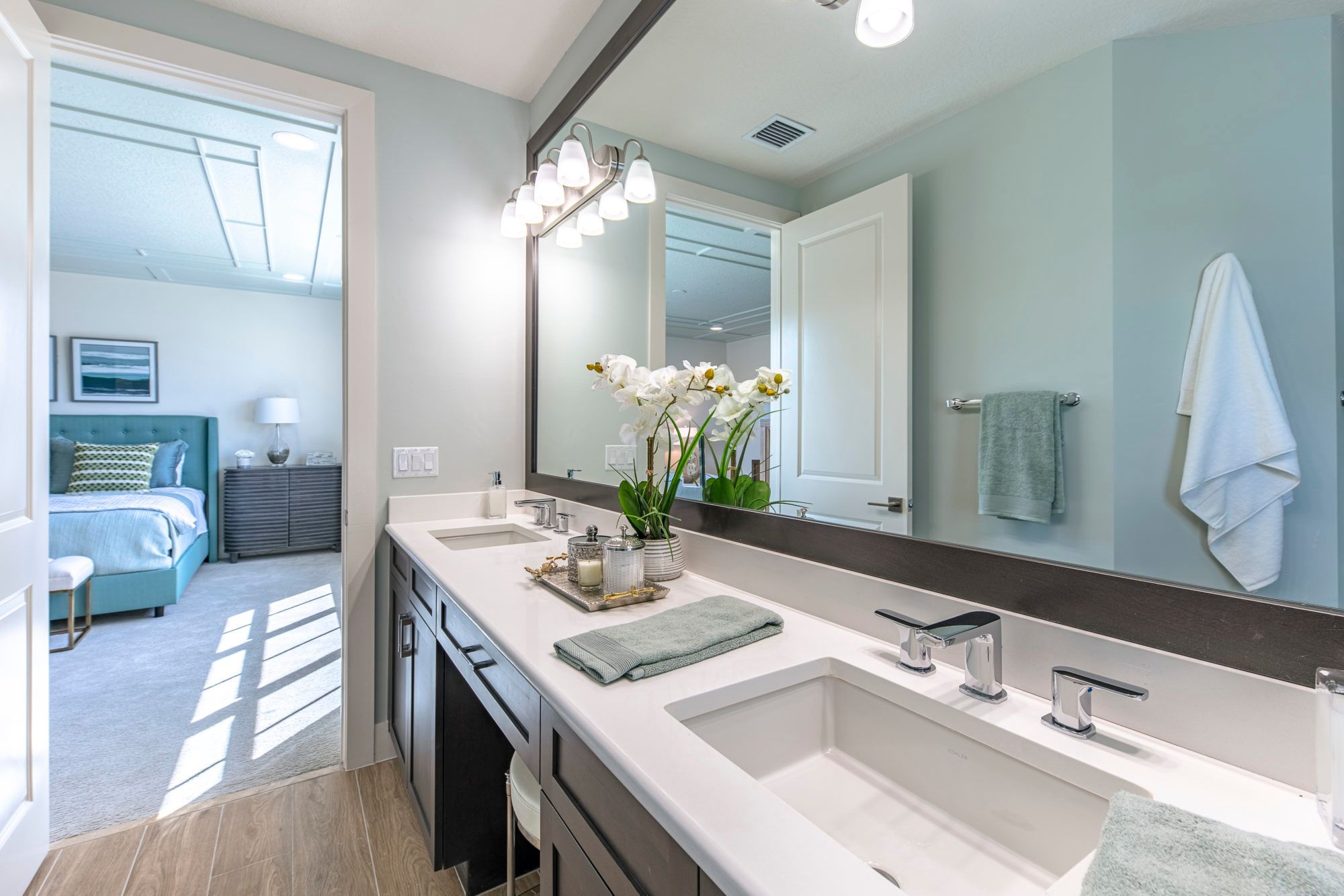 Bathroom featured in the Sancia By 5 Star Development in Palm Beach County, FL