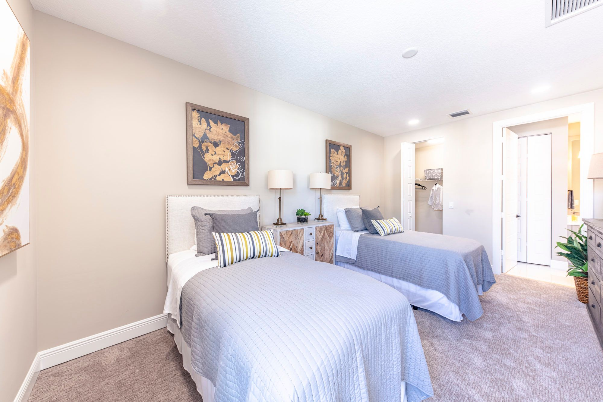 Bedroom featured in the Sancia By 5 Star Development in Palm Beach County, FL