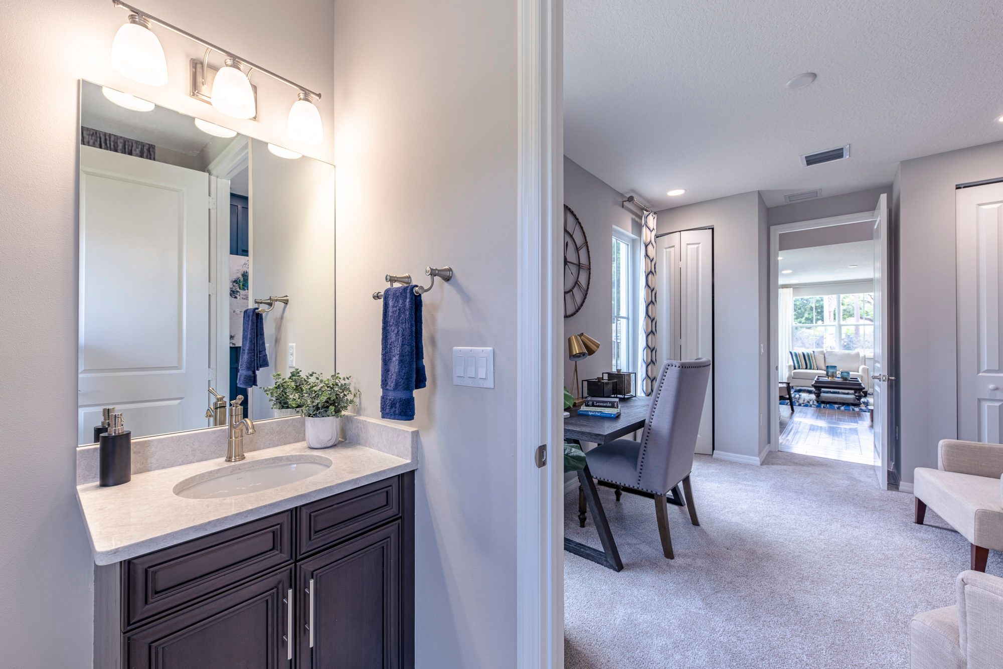 Bathroom featured in the Sophia By 5 Star Development in Palm Beach County, FL