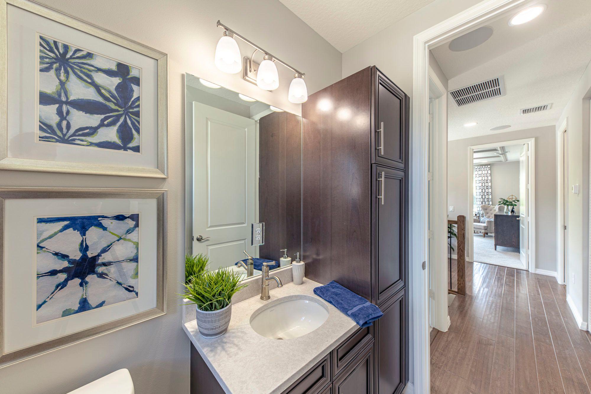 Bathroom featured in the Sophia By 5 Star Development in Palm Beach County, FL