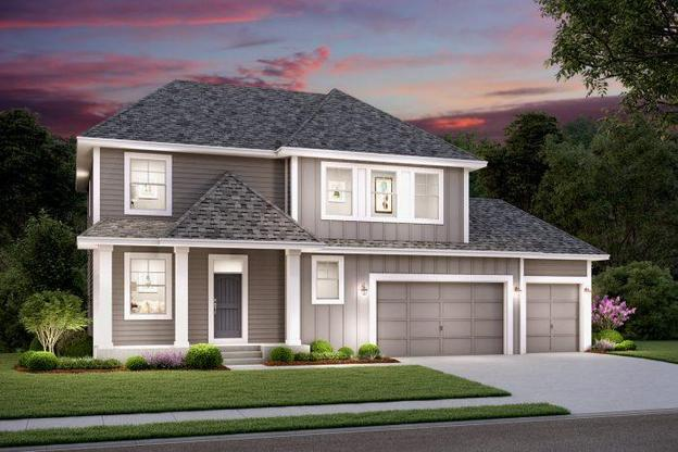 The Hyland floor Plan:3216 SQ. FT Total