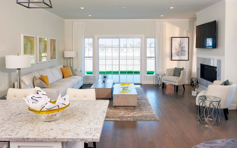 Living Area featured in The Barolo By ORNSTEIN LEYTON COMPANY in Nassau-Suffolk, NY