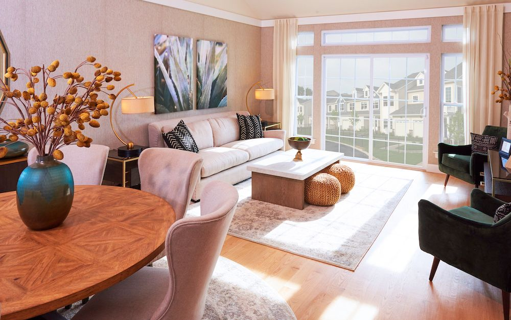 Living Area featured in The Napa By ORNSTEIN LEYTON COMPANY in Nassau-Suffolk, NY