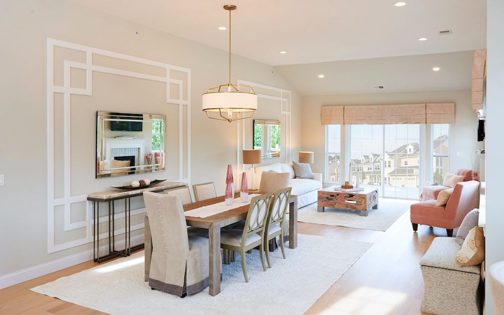 Living Area featured in The Savoy By ORNSTEIN LEYTON COMPANY in Nassau-Suffolk, NY