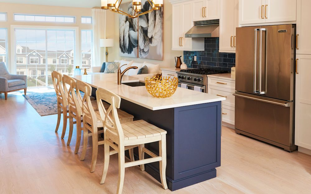 Kitchen featured in The Sonoma By ORNSTEIN LEYTON COMPANY in Nassau-Suffolk, NY