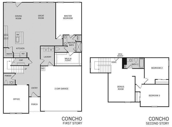 Concho Floor Plan:Concho Floor Plan