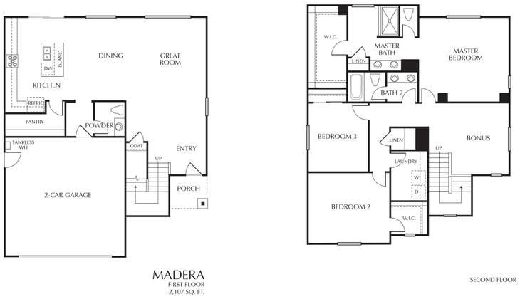 Madera:Floors 1&2