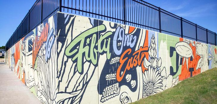 51 East:Wall Mural