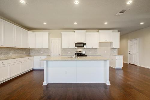 Kitchen-in-Johnson-at-Lakeside at the Villages of Hidden Lake-in-Pflugerville