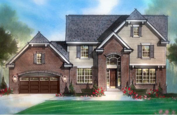 Exterior featured in The Orchard By AP Builders in Detroit, MI