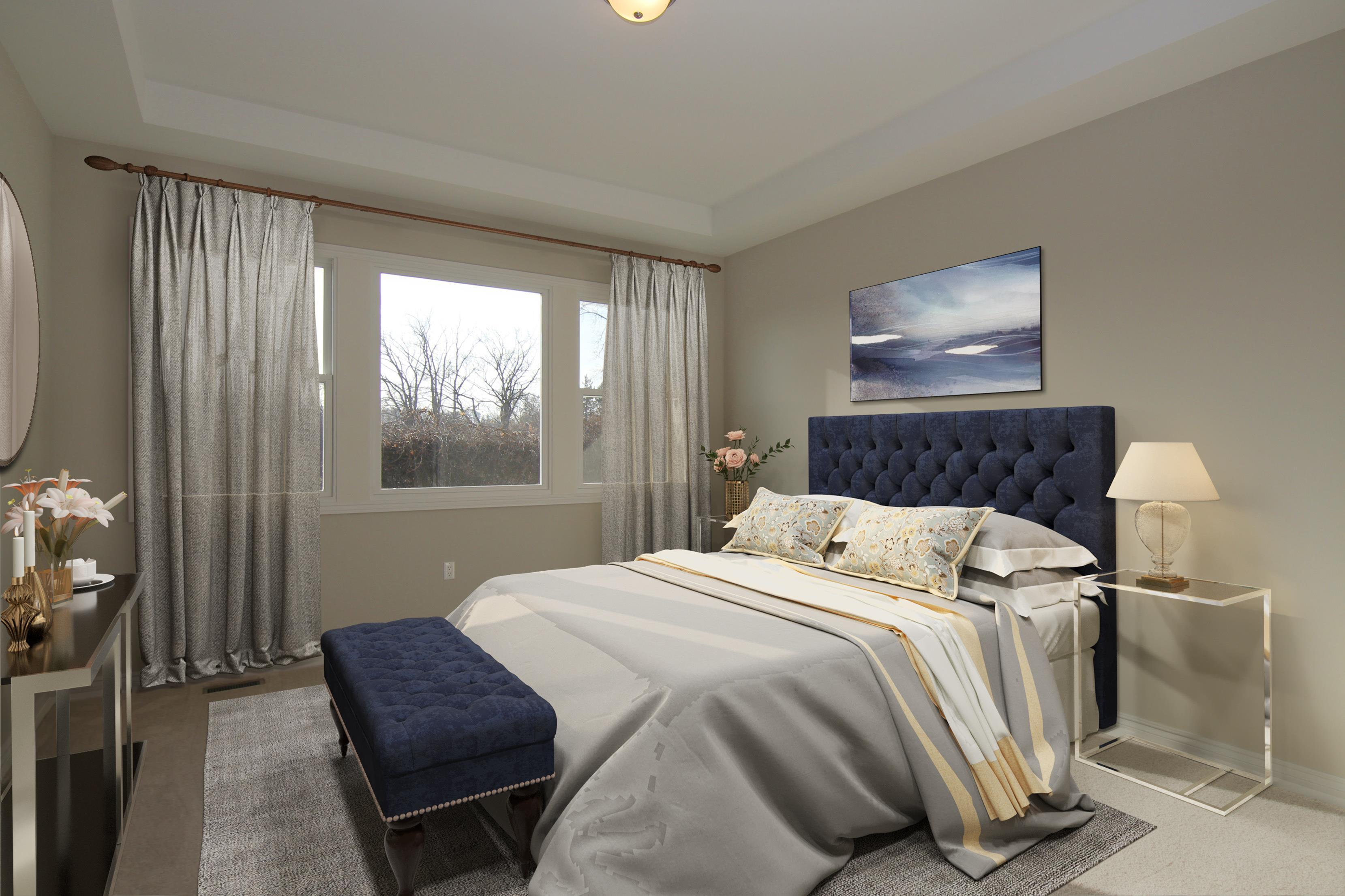 Bedroom featured in The Traverse  By AP Builders in Detroit, MI