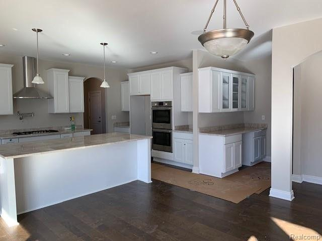 Kitchen featured in The Beverly By AP Builders in Detroit, MI