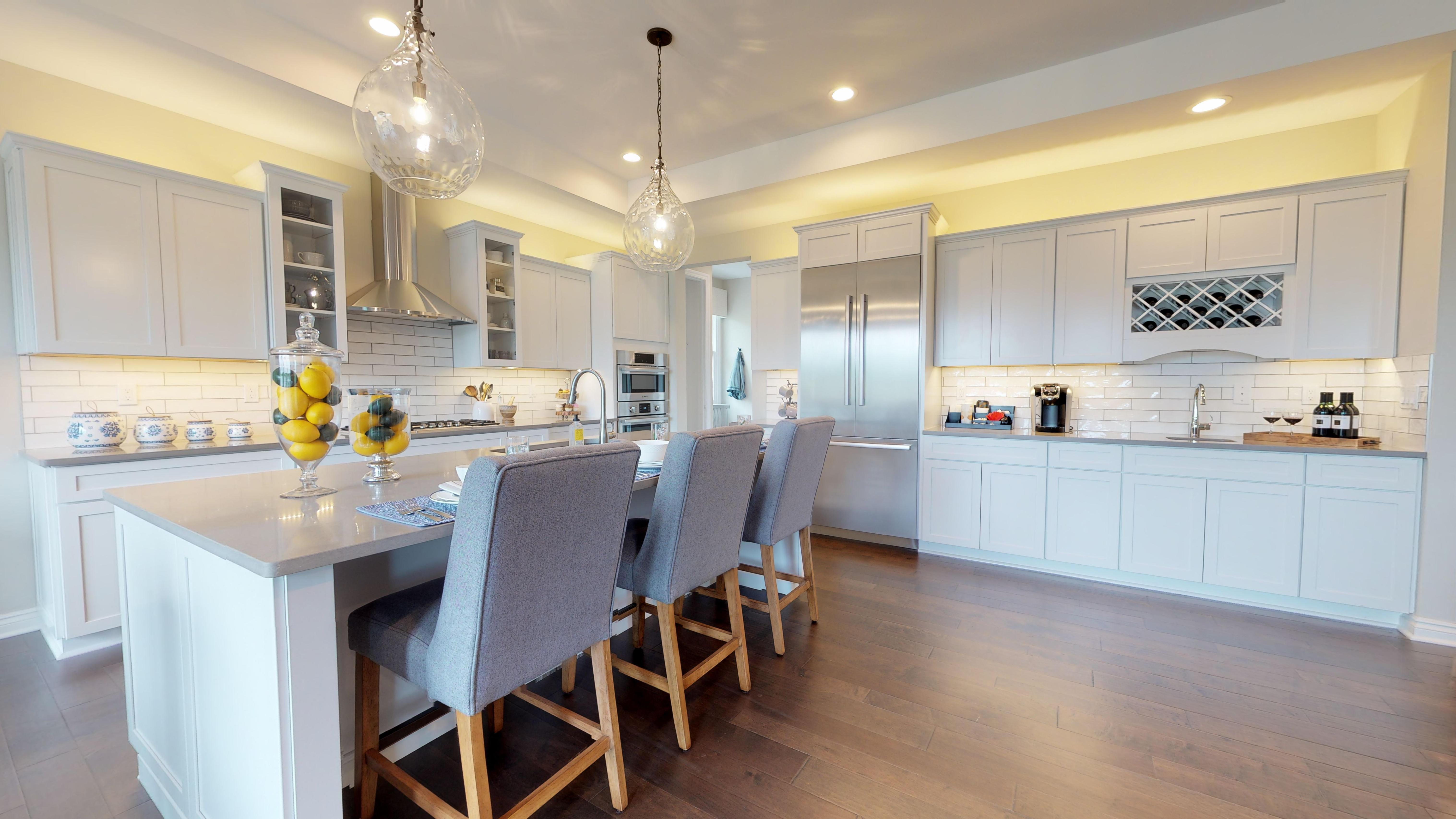 Kitchen featured in The Mackinac  By AP Builders in Detroit, MI