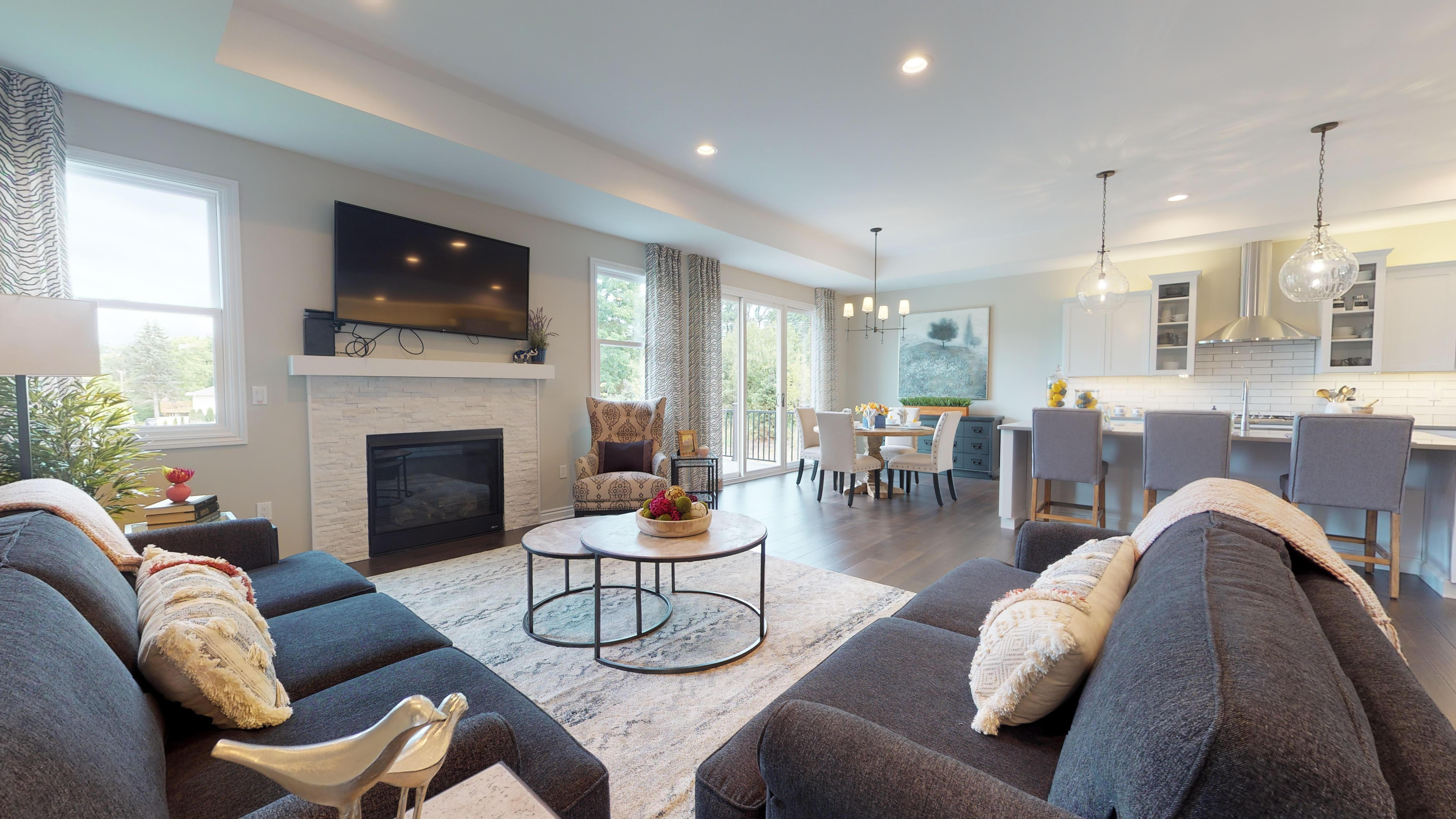Living Area featured in The Charlevoix  By AP Builders in Detroit, MI