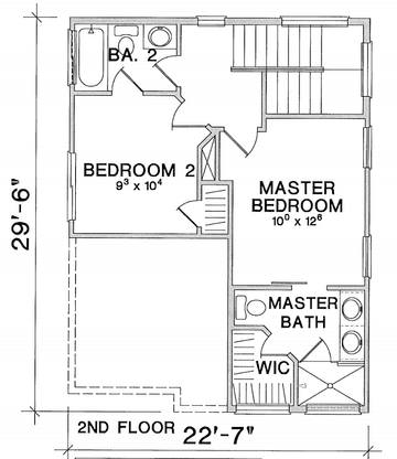 Second Floor:Floor Plan