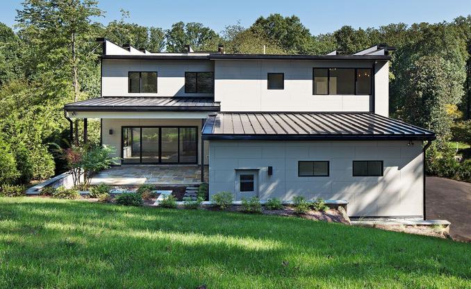 Forest Villa:Rear Exterior