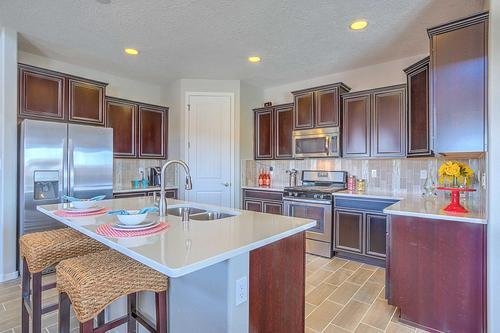 Kitchen-in-The Coco-at-Rancho Valencia-in-Los Lunas