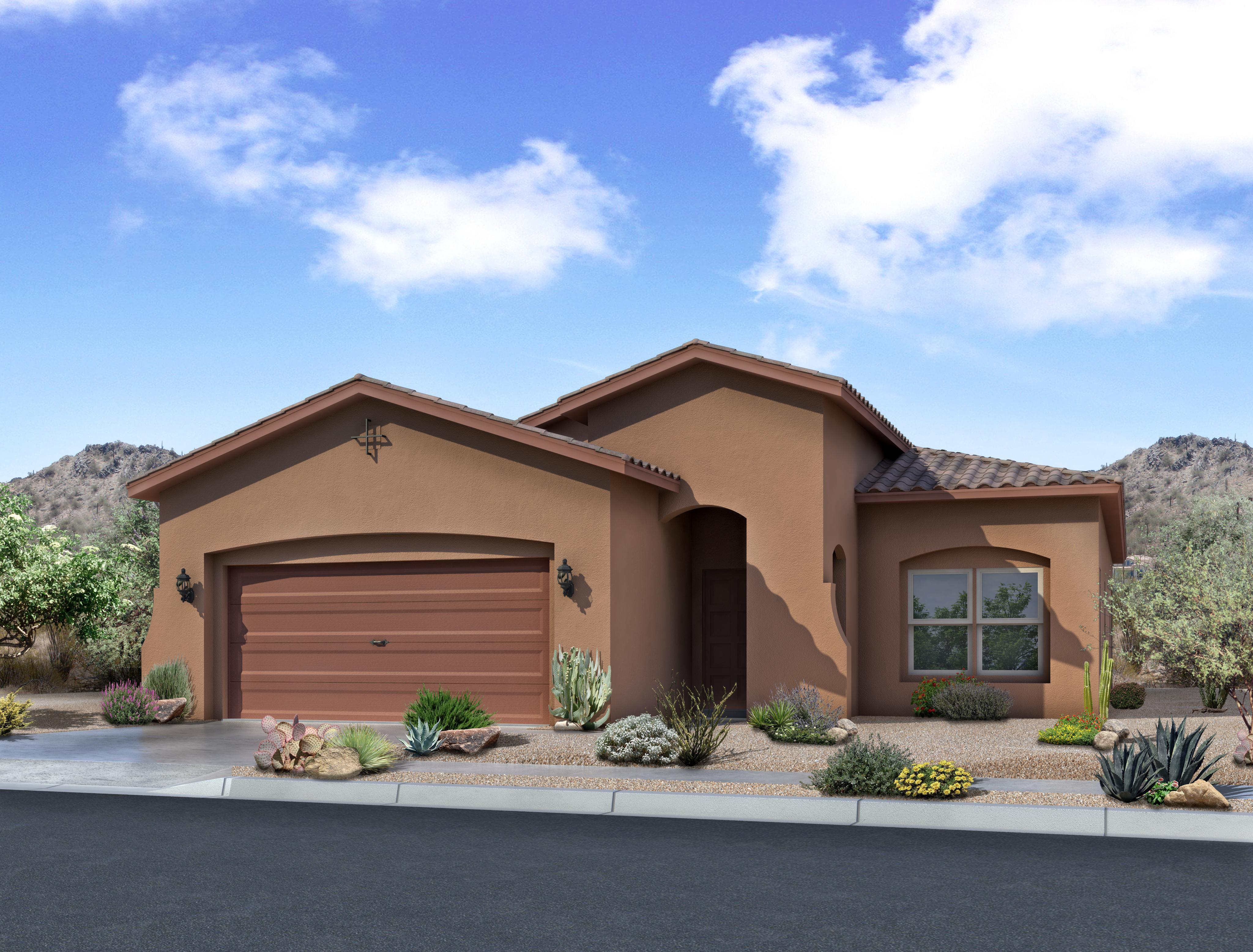 Exterior featured in The Tabitha By Abrazo Homes in Albuquerque, NM
