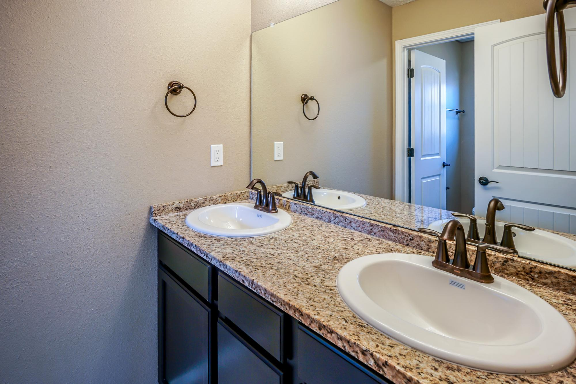 Bathroom featured in The Taylor with Optional 3rd Car Garage By Abrazo Homes in Albuquerque, NM