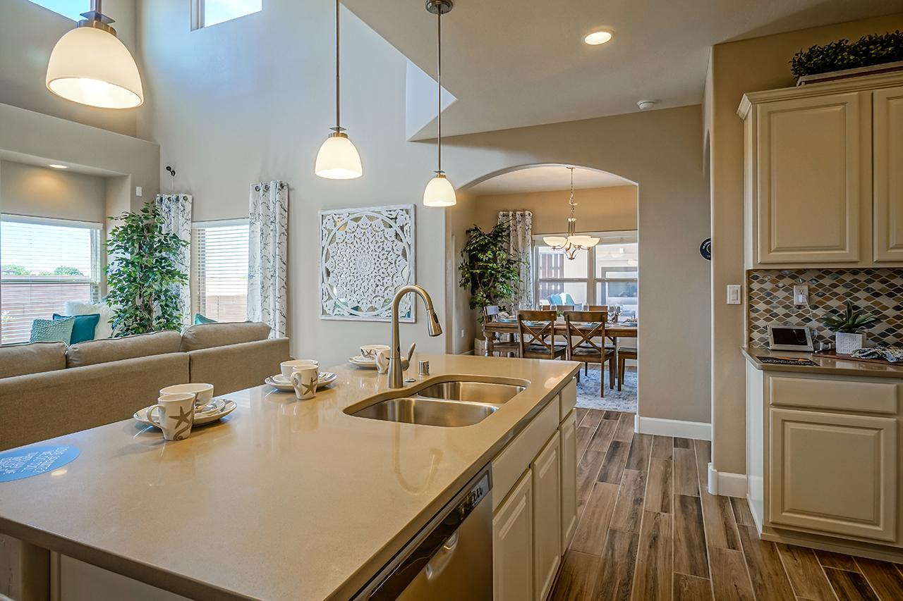 Kitchen featured in The Coco By Abrazo Homes in Albuquerque, NM