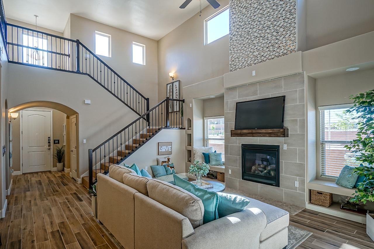 Living Area featured in The Coco with Optional 3rd Car Garage By Abrazo Homes in Albuquerque, NM