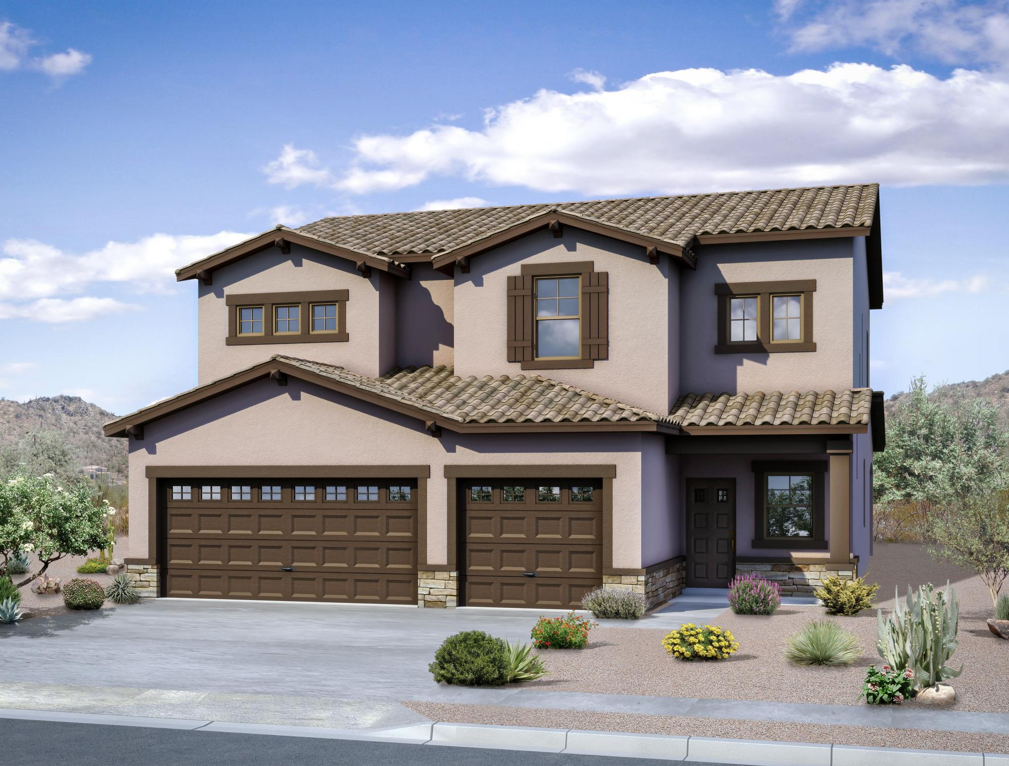 Exterior featured in The Rosa II By Abrazo Homes in Albuquerque, NM