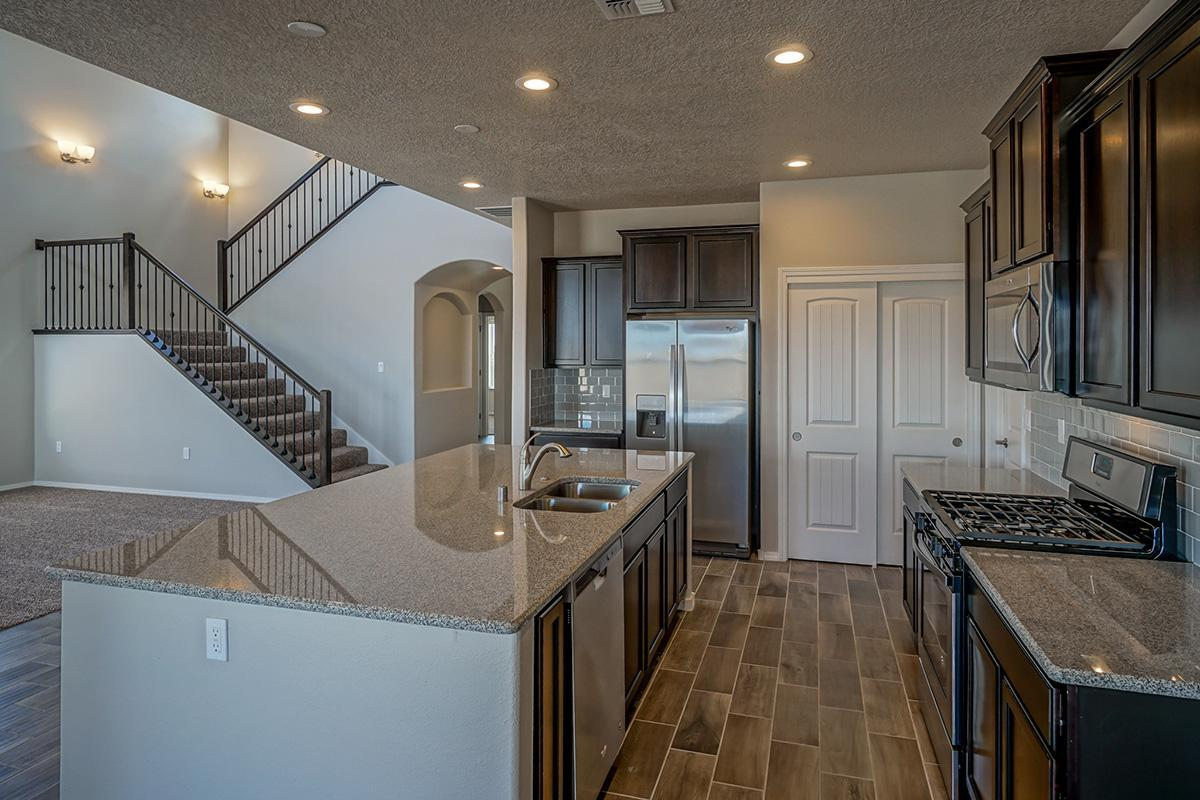 Kitchen featured in The Thatcher By Abrazo Homes in Albuquerque, NM