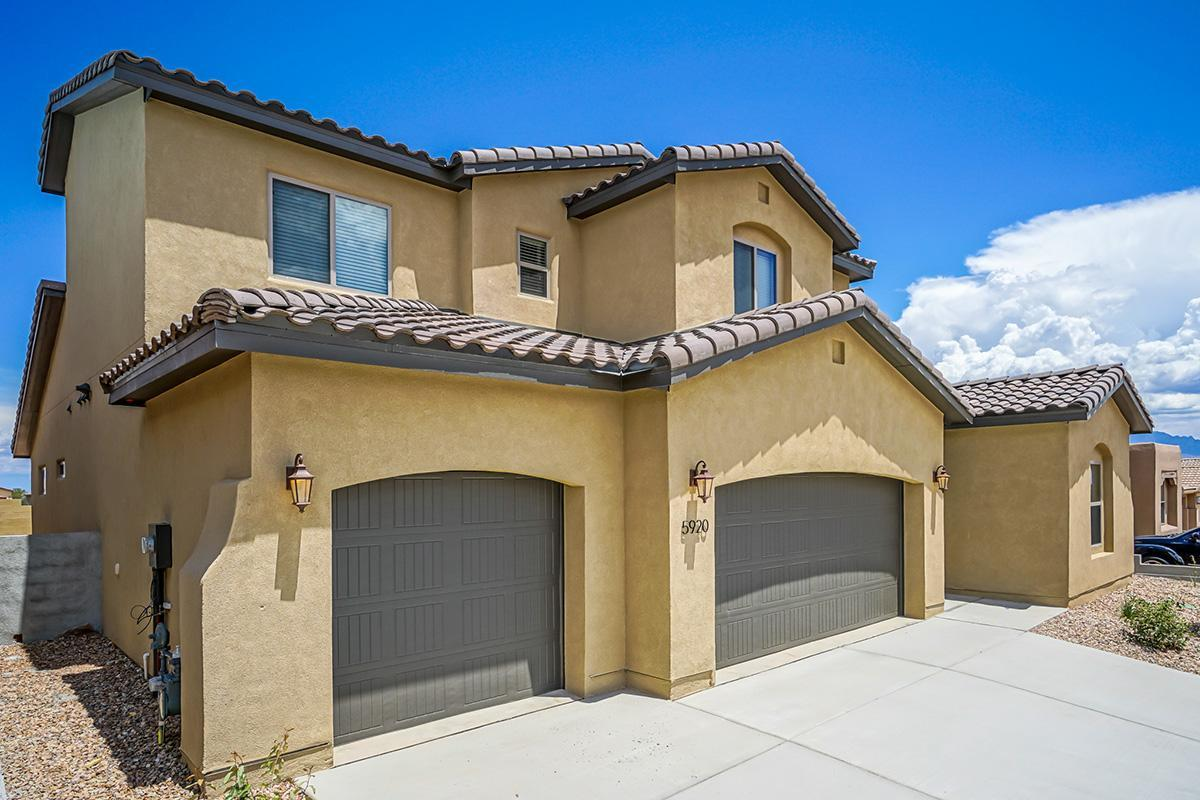 Exterior featured in The Thatcher By Abrazo Homes in Albuquerque, NM