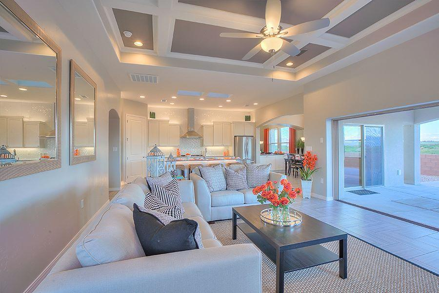 Living Area featured in The Tiffany By Abrazo Homes in Albuquerque, NM