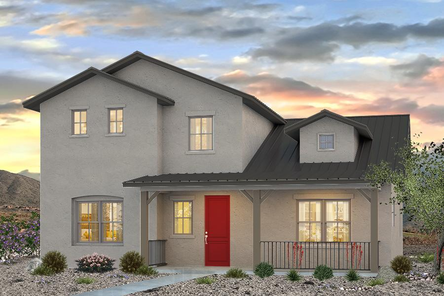 Exterior featured in The Stout By Abrazo Homes in Albuquerque, NM