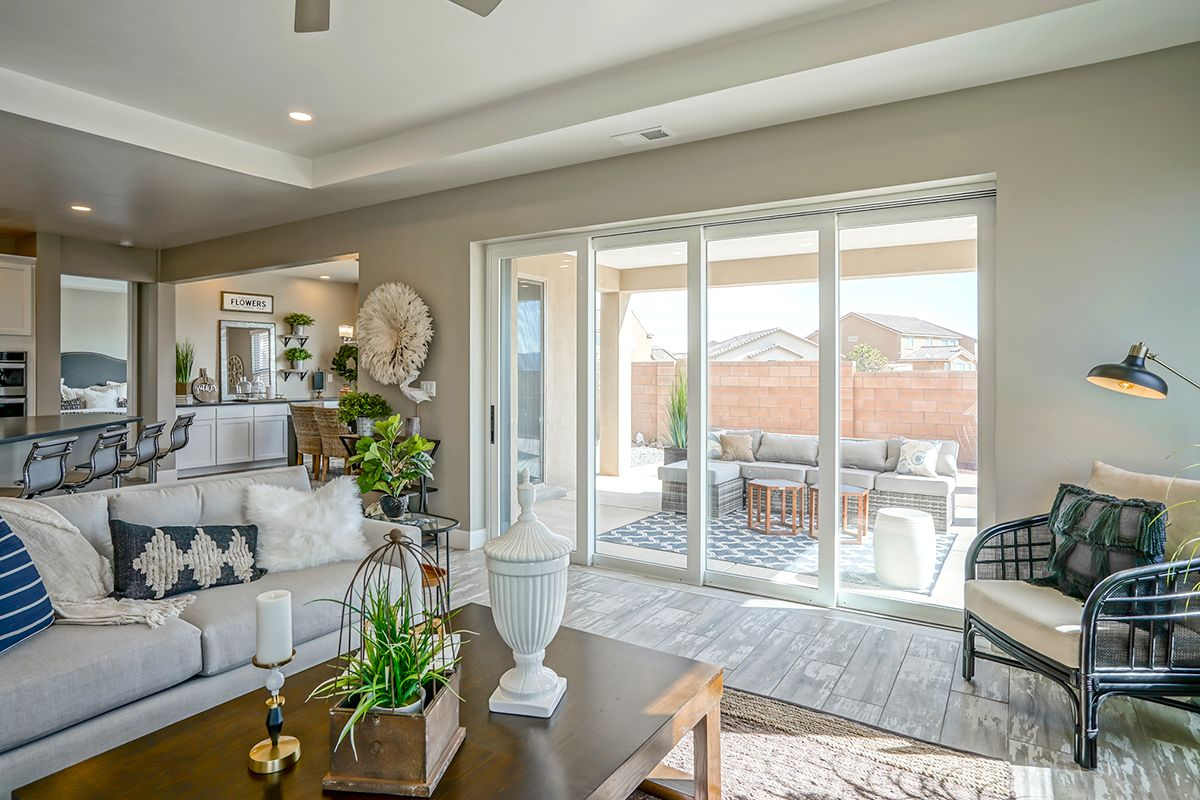 Living Area featured in The Audrey II By Abrazo Homes in Albuquerque, NM