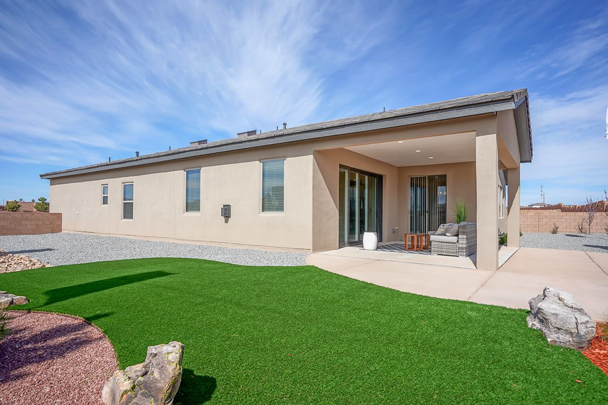 Exterior featured in The Audrey II By Abrazo Homes in Albuquerque, NM