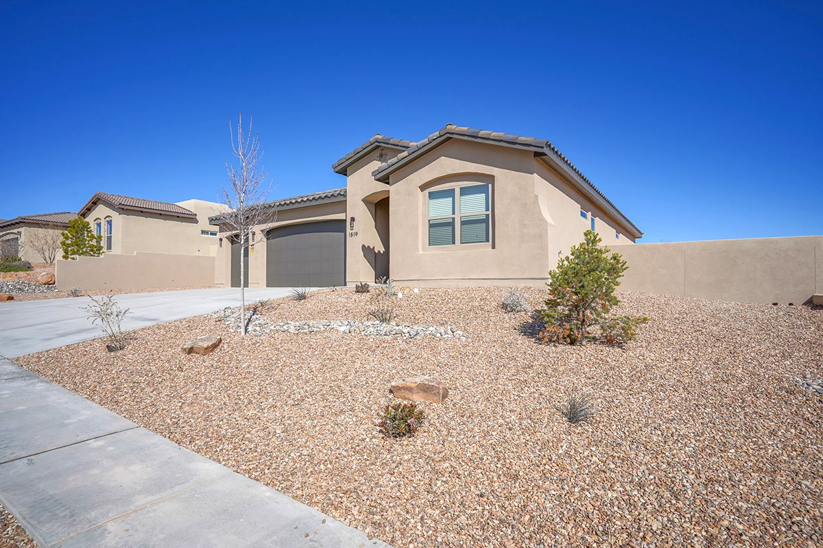 Exterior featured in The Nightingale By Abrazo Homes in Albuquerque, NM