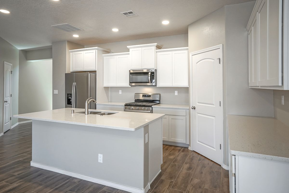 Kitchen featured in the Cabo By Abrazo Homes in Albuquerque, NM