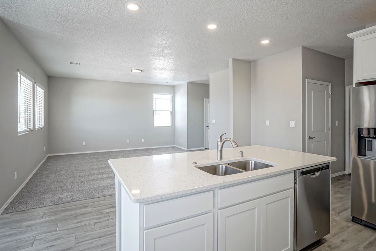 Kitchen featured in the Mazatlan By Abrazo Homes in Albuquerque, NM