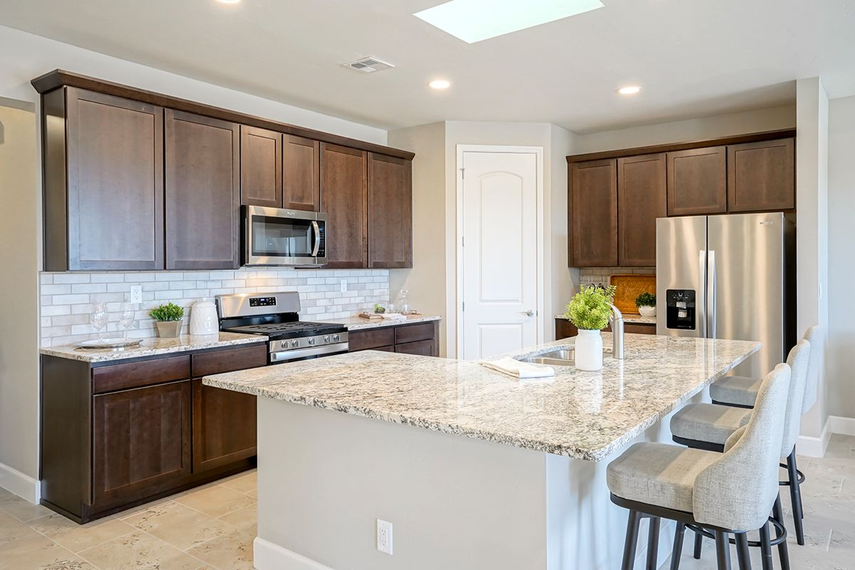 Kitchen featured in The Selena By Abrazo Homes in Albuquerque, NM