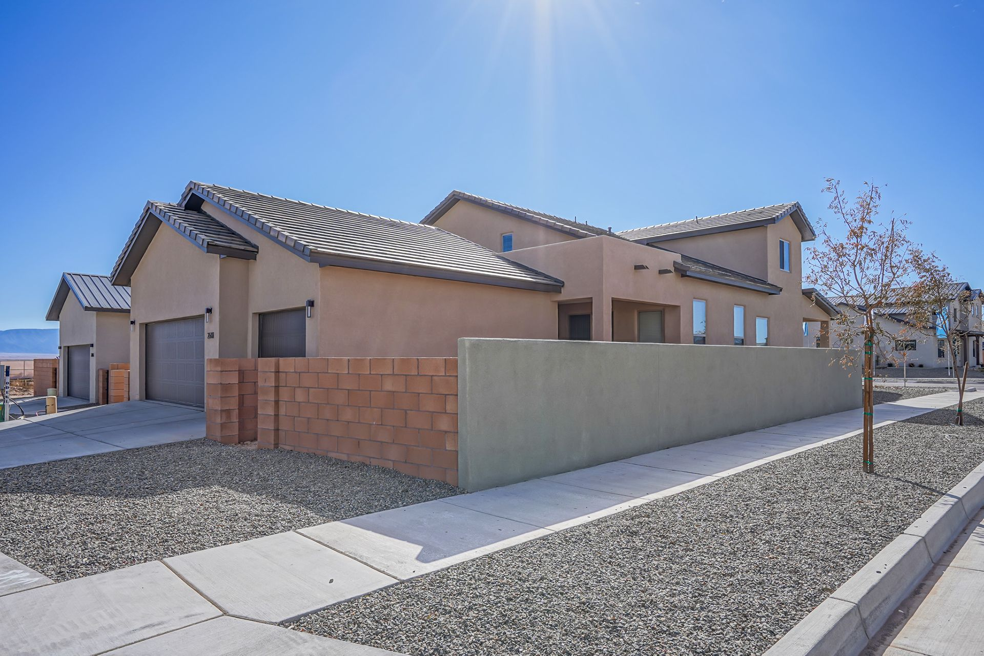 Exterior featured in The IPA By Abrazo Homes in Albuquerque, NM