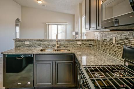 Kitchen-in-The Harriet-at-Rancho Valencia-in-Los Lunas