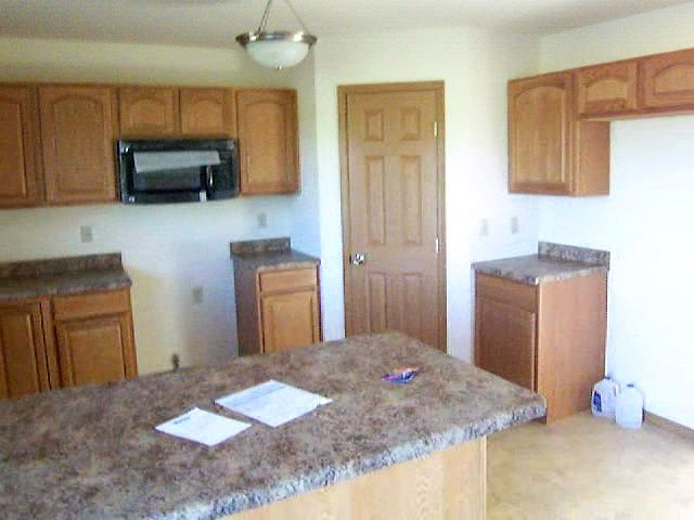 Kitchen featured in the Ashford By Accent Homes Inc. in Gary, IN