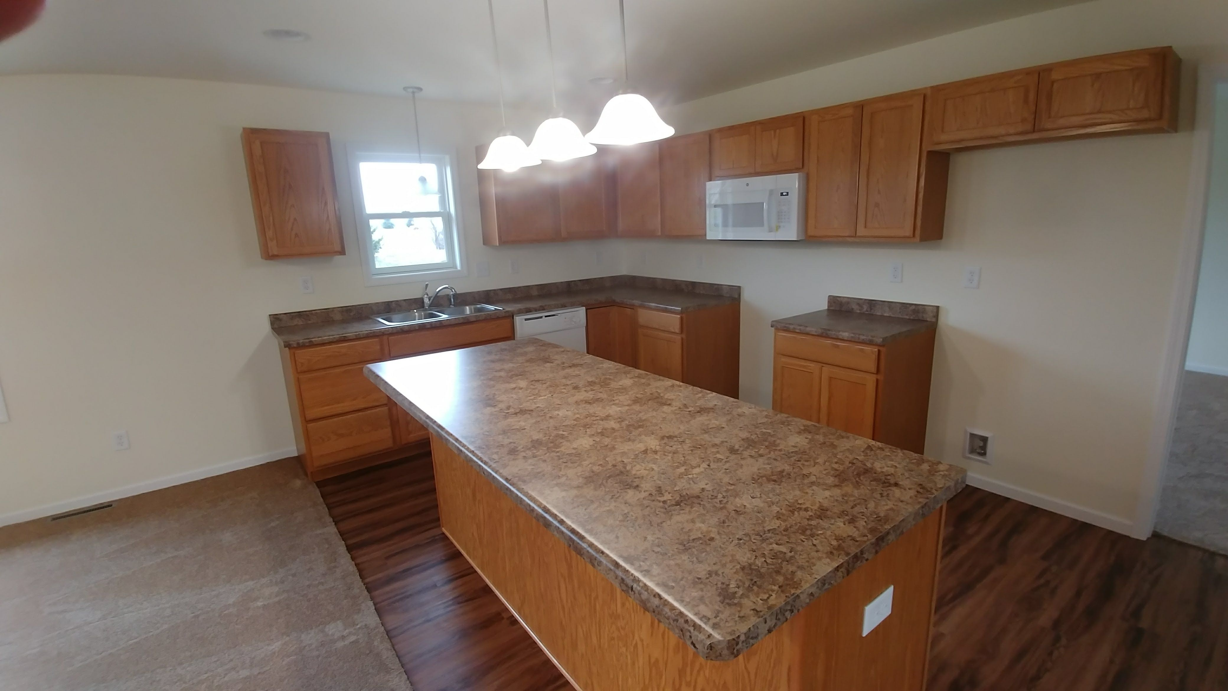 Kitchen featured in the Cheyenne II By Accent Homes Inc. in Gary, IN