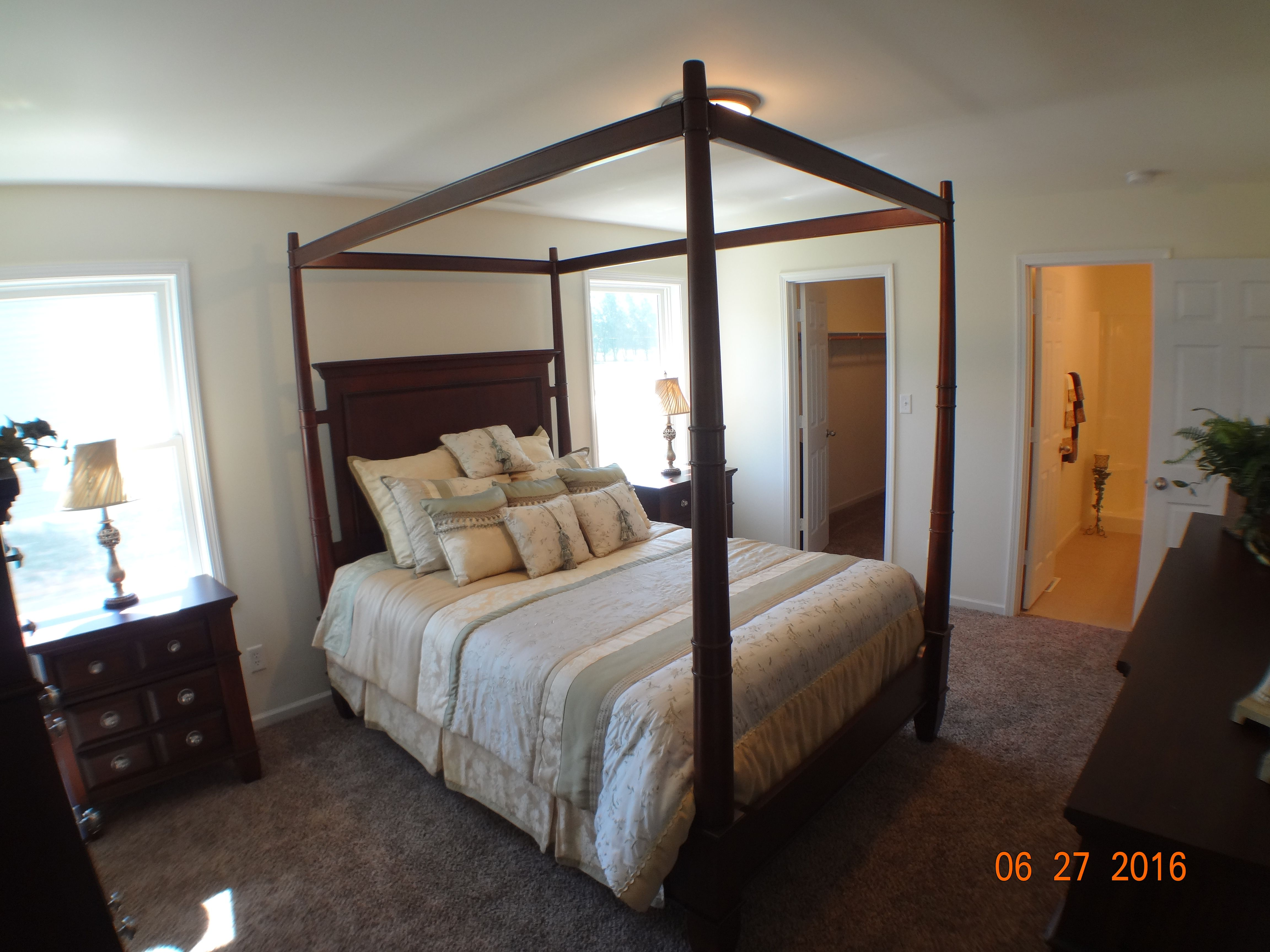 Bedroom featured in the Cheyenne II By Accent Homes Inc. in Gary, IN